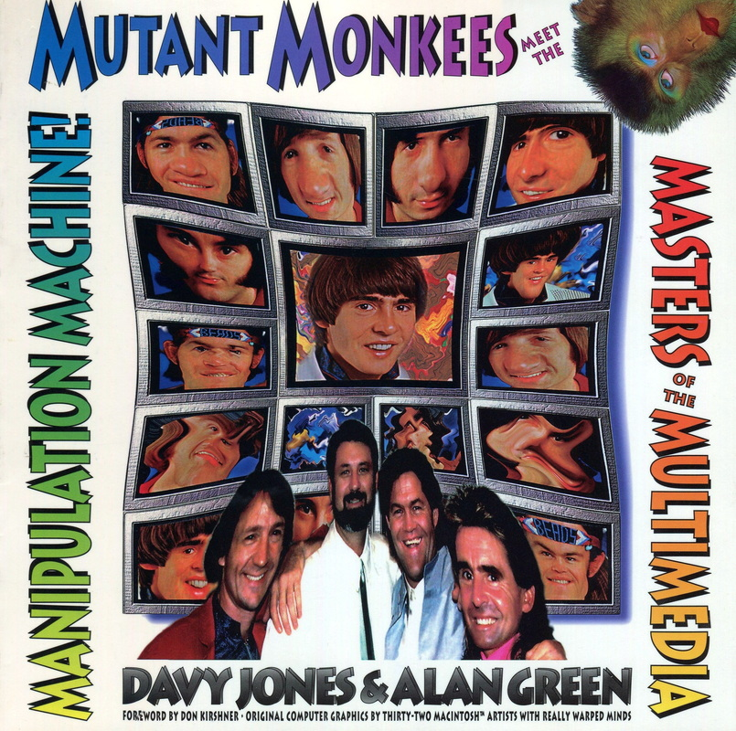 Davy Jones Mutant Monkees book