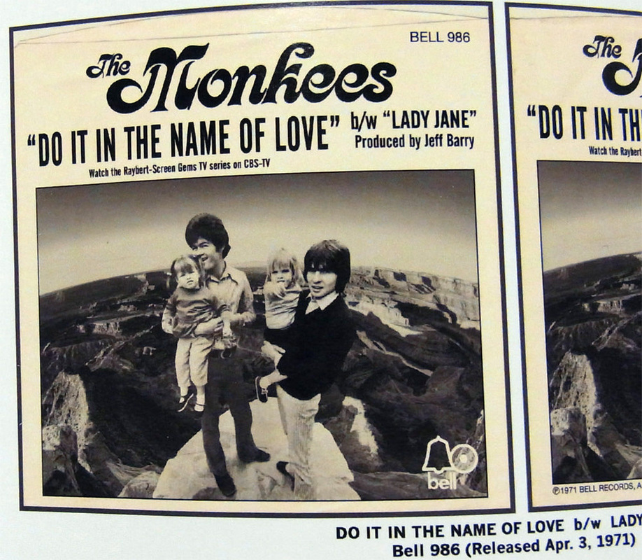 Monkees Do It In The Name of Love