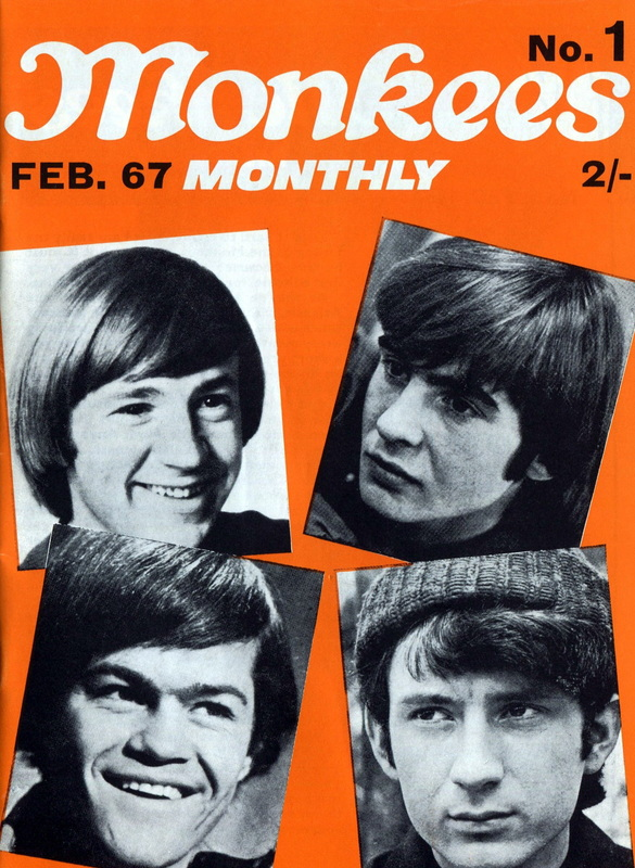 Monkees Monthly first issue
