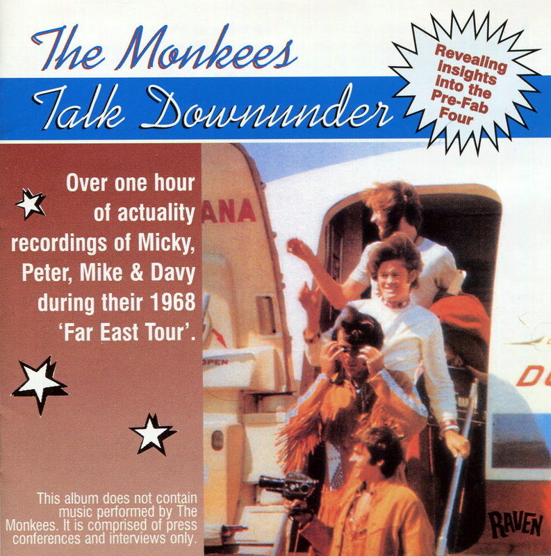 Monkees Talk Downunder Compact Disc