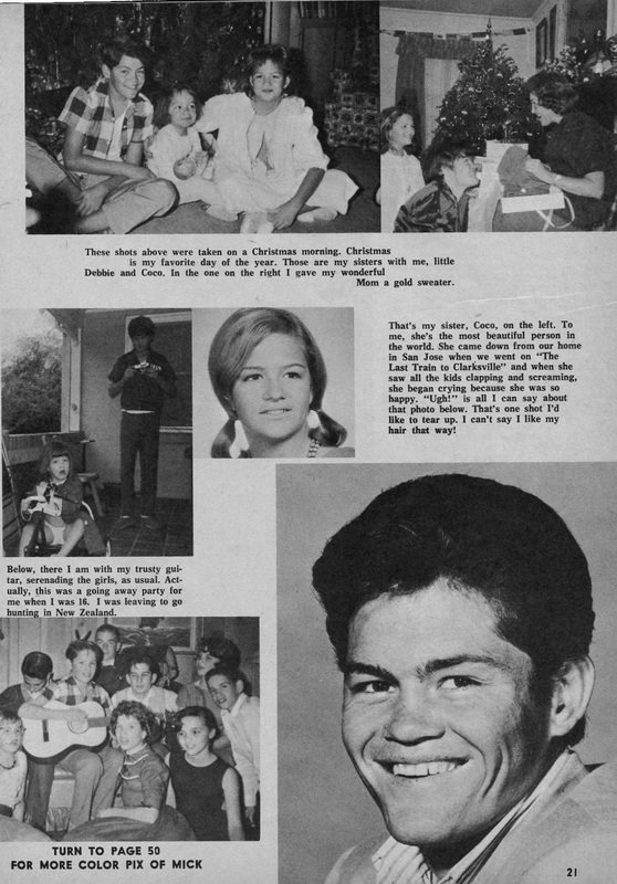 Micky Dolenz young childhoo