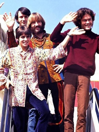 Monkees Japan 1968 tour