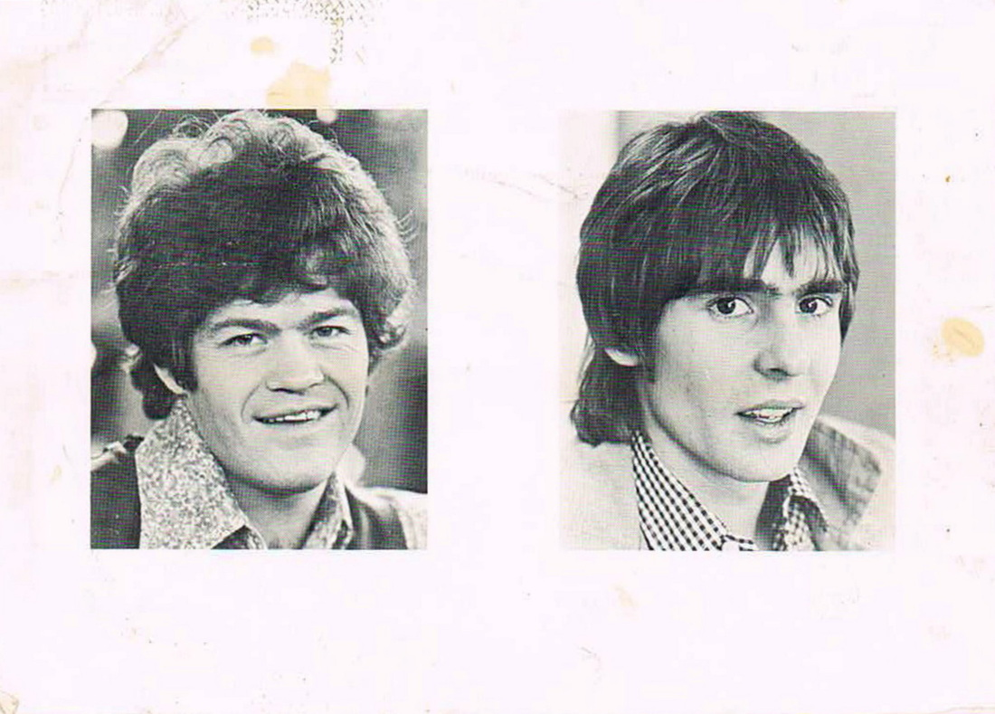 Monkees Oh My My postcard