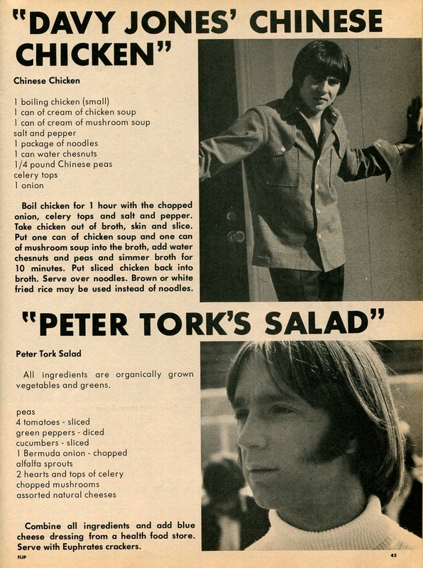 Recipes Monkees