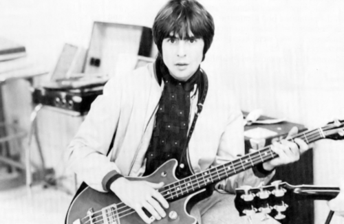 Davy Jones Gretsch bass