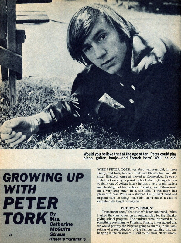 Peter Tork grandmother