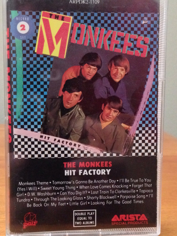 Monkees Hit Factory cassette