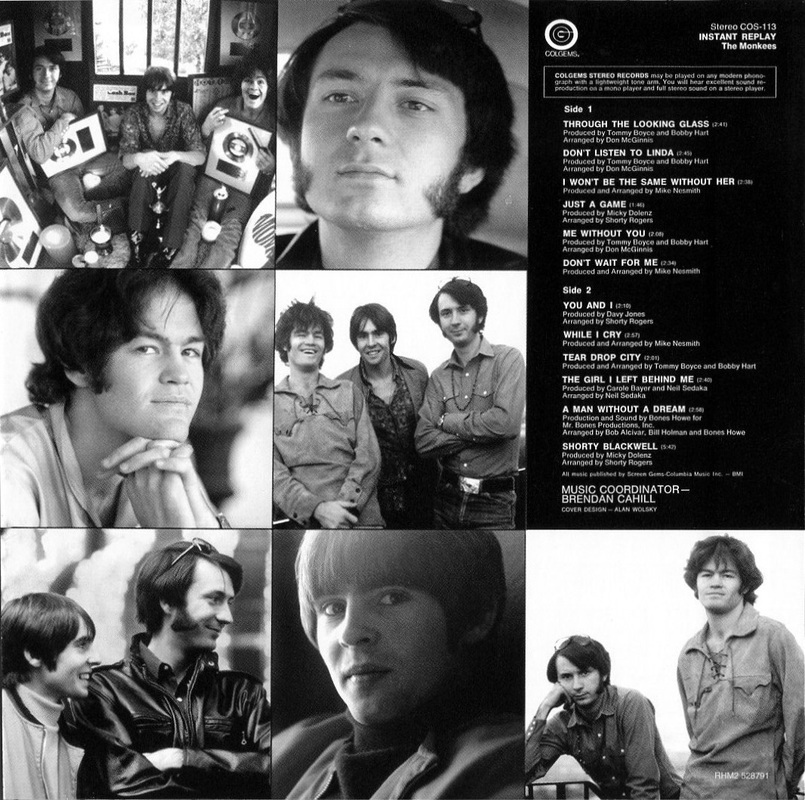 Monkees Instant Replay back cover