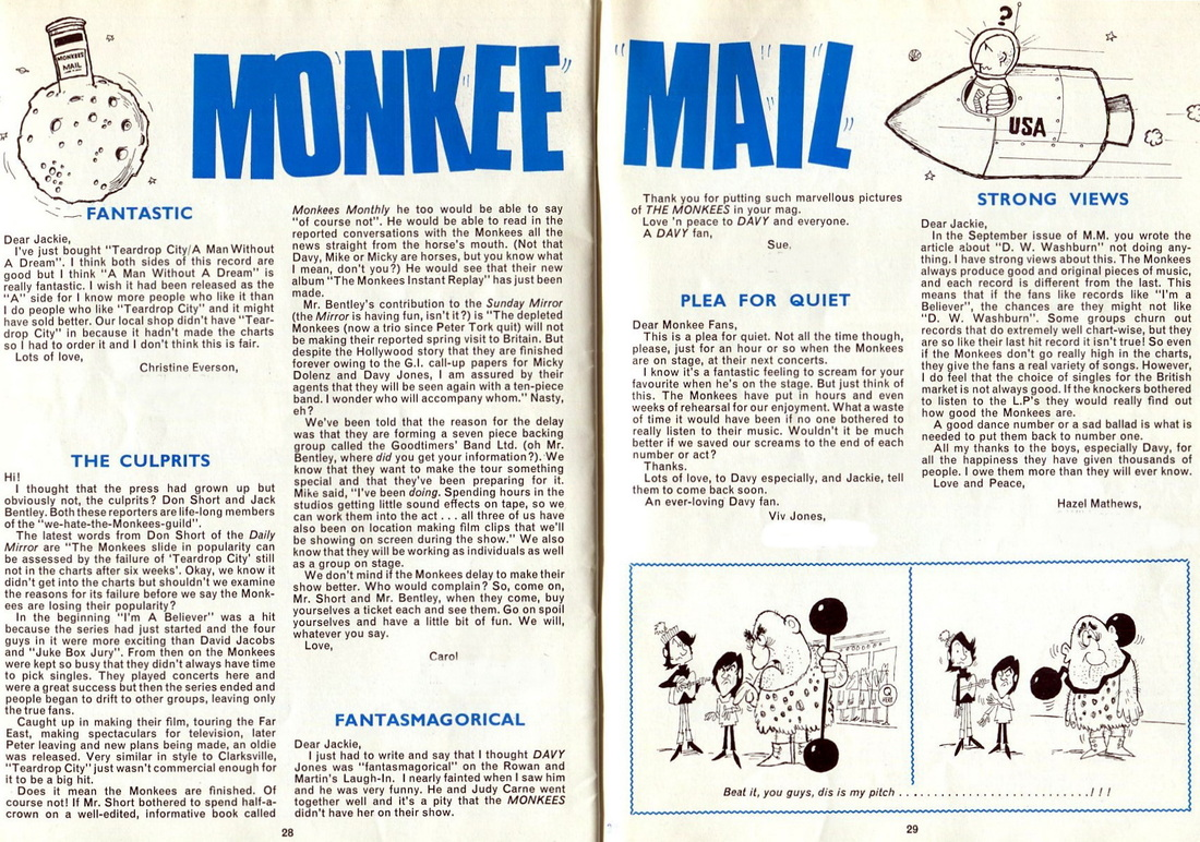 Monkees mail
