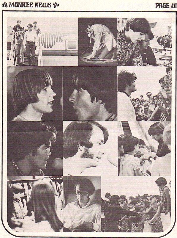 Monkees fan club pictures