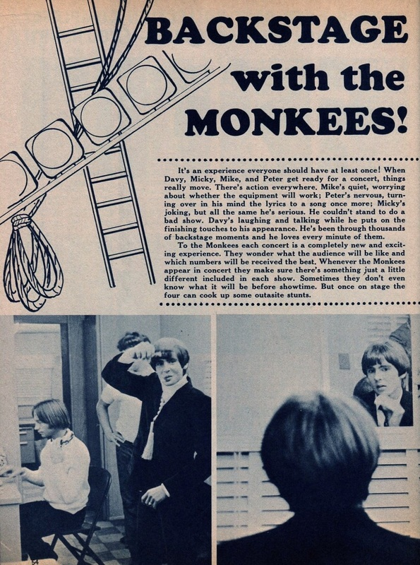 Monkees backstage