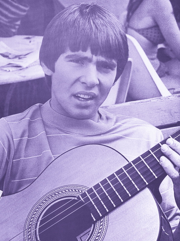 Davy Jones Monkees guitar