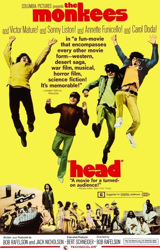 Head movie poster Monkees