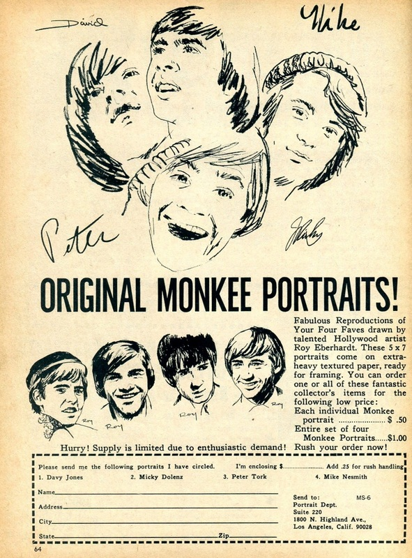 Monkees Roy Eberhardt