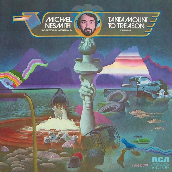 Michael Nesmith Tantamount to Treason cover