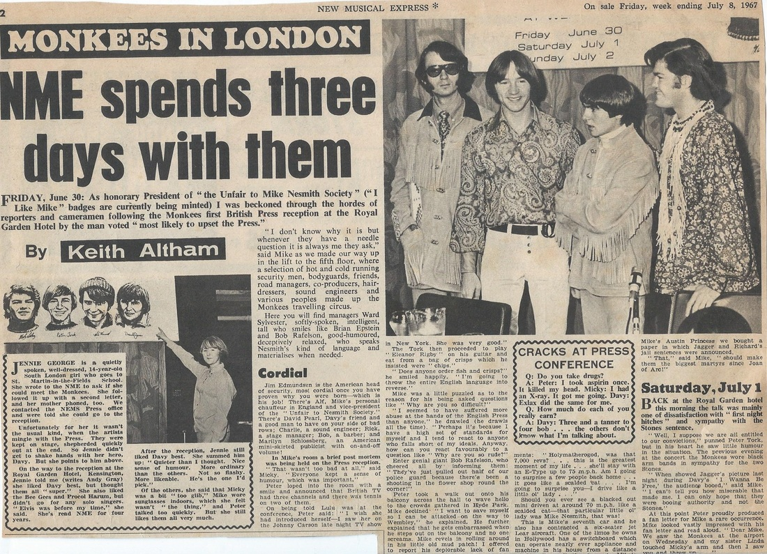 Monkees London Wembley 1967
