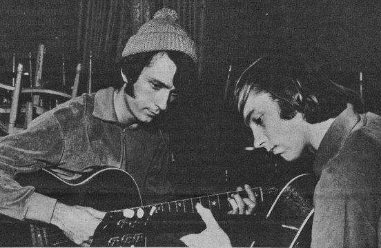 Mike Nesmith Peter Tork guitars