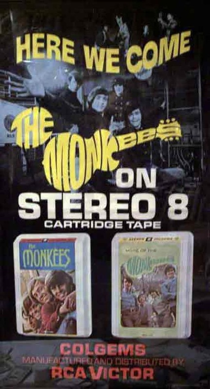 Monkees 8 track