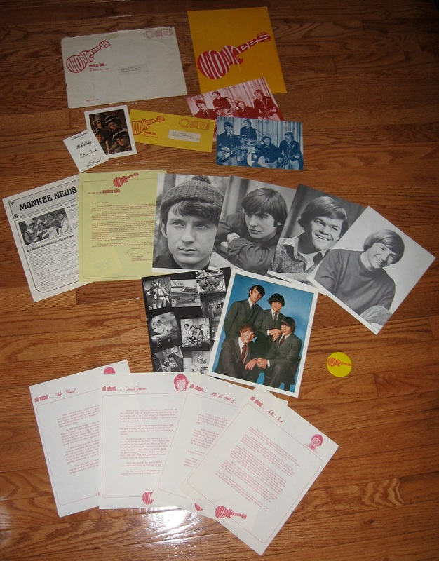 Monkees fan club kit