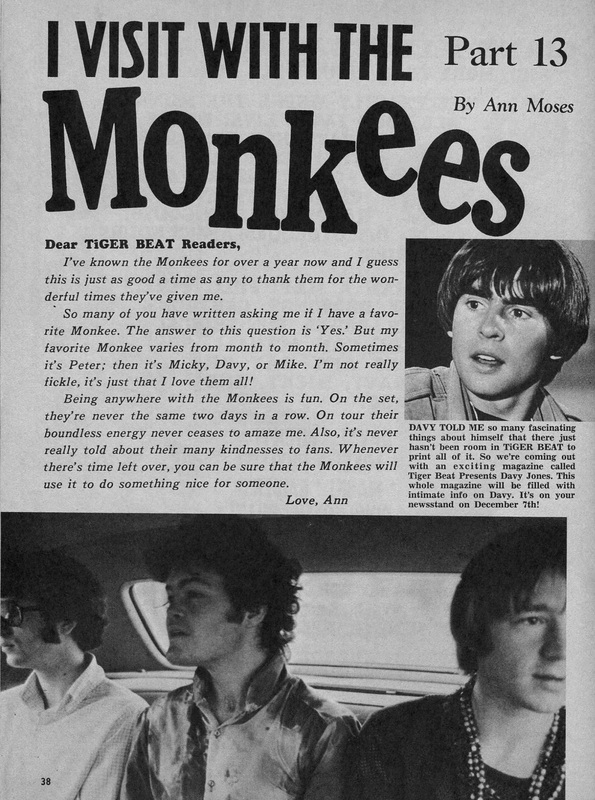 Monkees Ann Moses