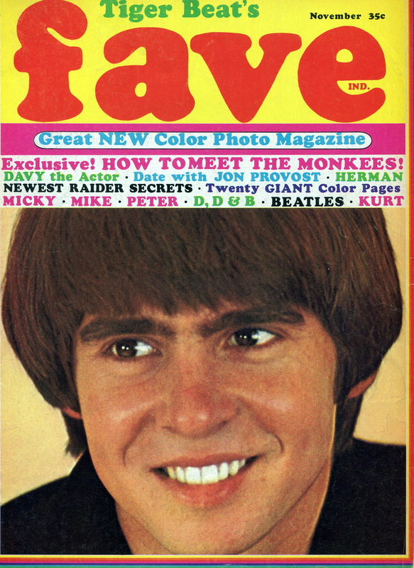 Fave Magazine Monkees