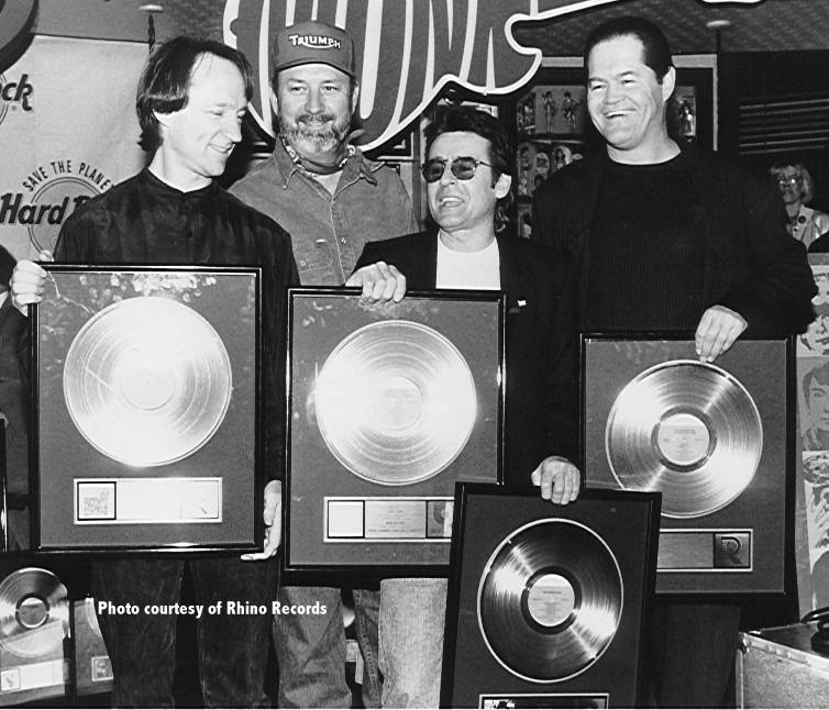 Monkees platinum albums