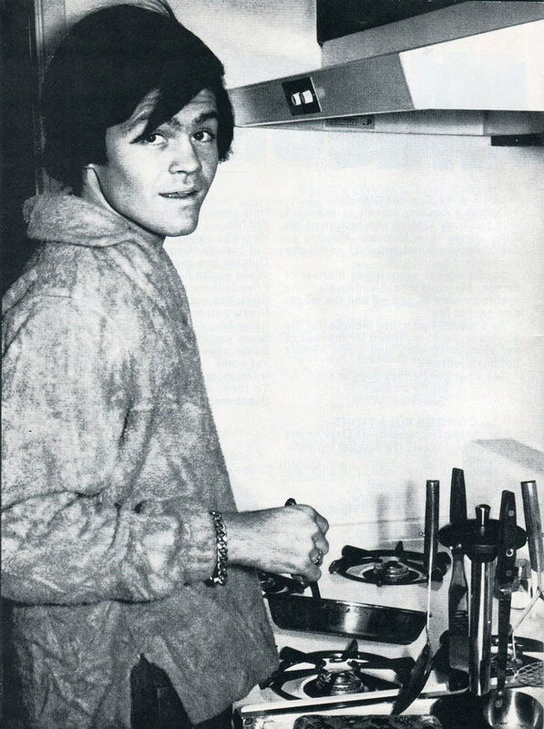 Micky Dolenz kitchen cooking