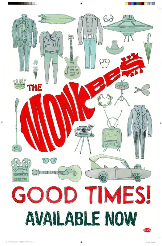 Monkees Good Times promo poster