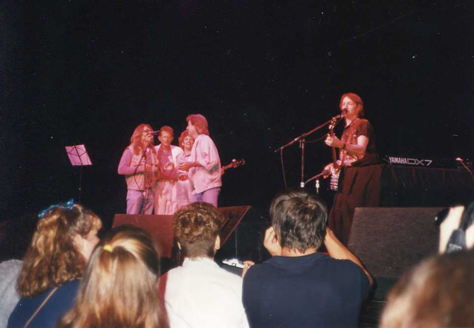 Peter Tork Vic Theatre 1988