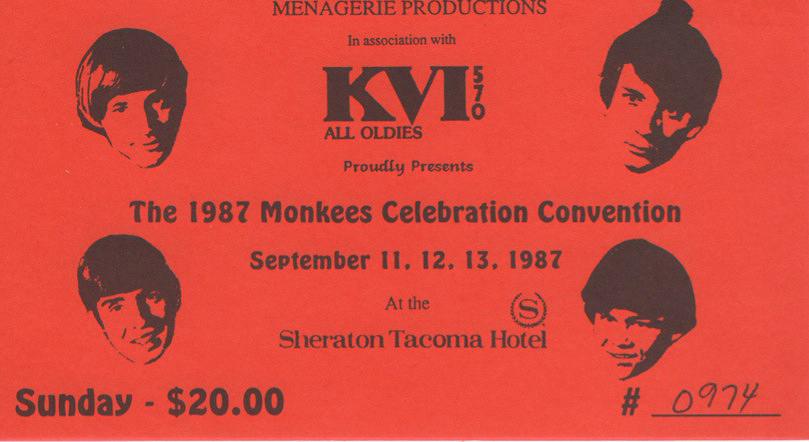 1987 Monkees Seattle convention