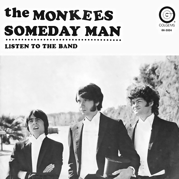 Monkees Someday Man picture sleeve