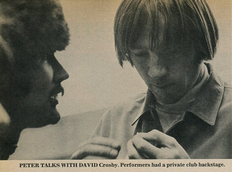 Peter Tork David Crosby