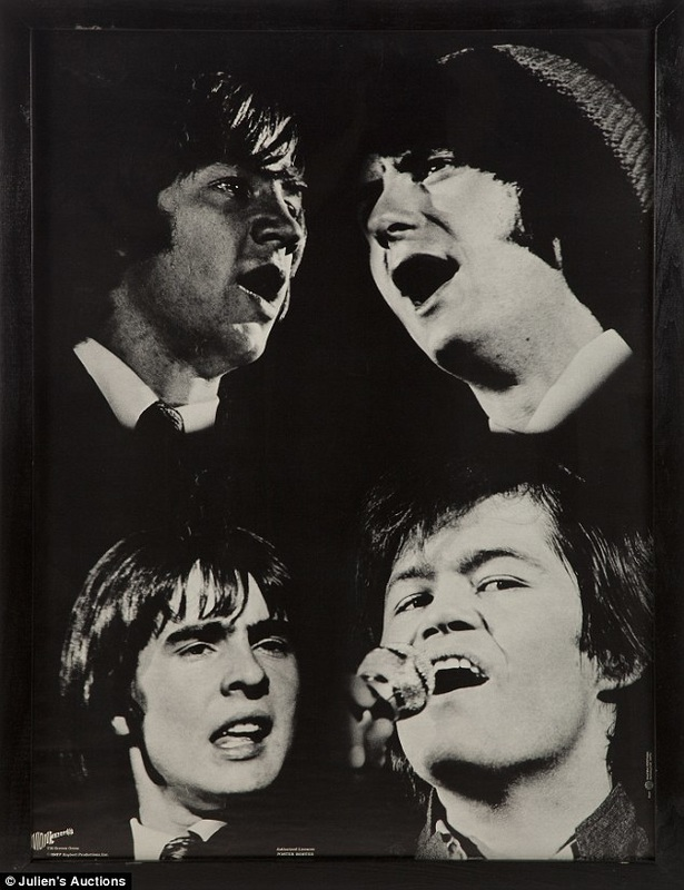 Monkees 1967 live poster