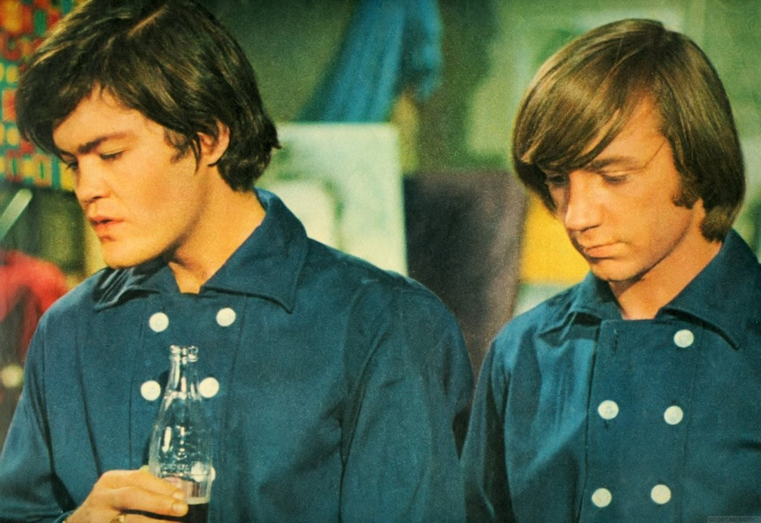 Micky Dolenz Peter Tork Coke bottle