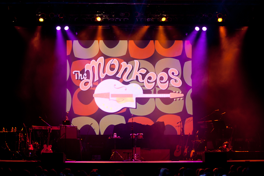 Monkees concert screen