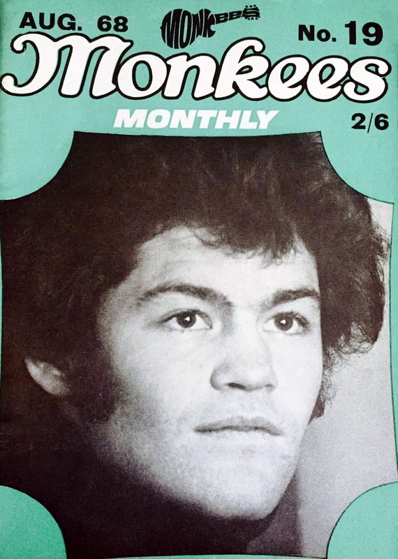 August 1968 Monkees Monthly
