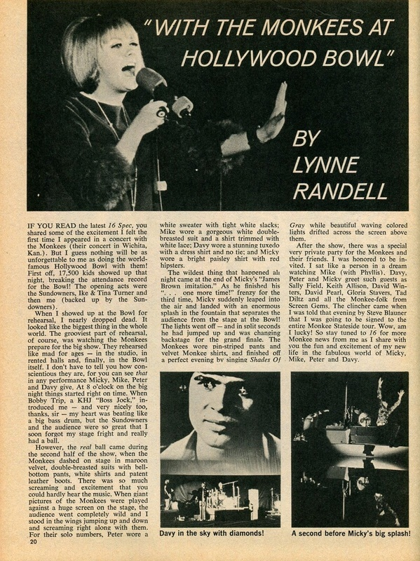 Monkees Lynne Randell