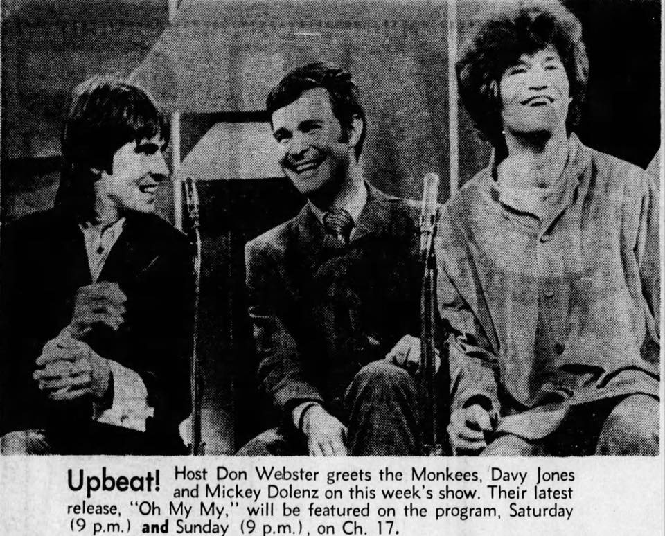 Monkees Upbeat 1970