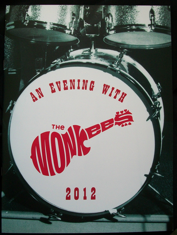 Monkees 2012 tour program