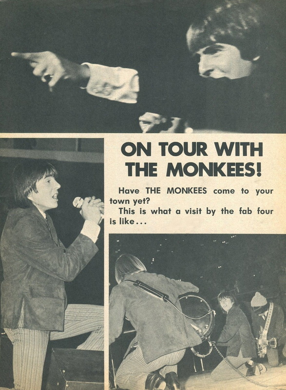 Monkees tour coverage