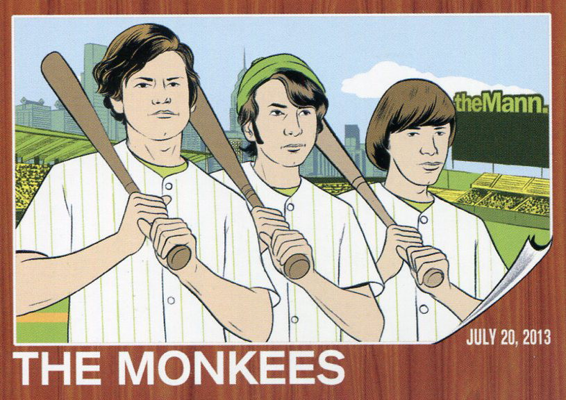 Monkees trading card 2013