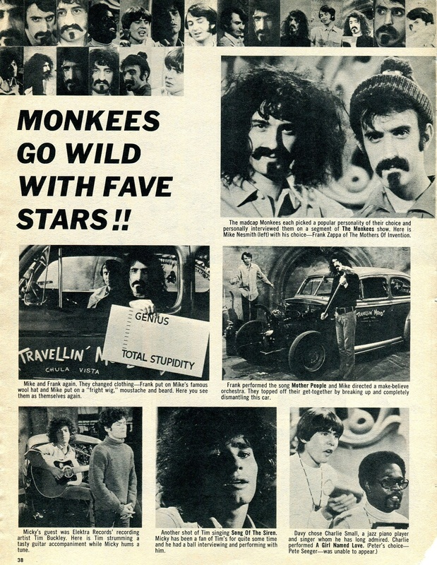 Monkees Zappa Buckley Smalls
