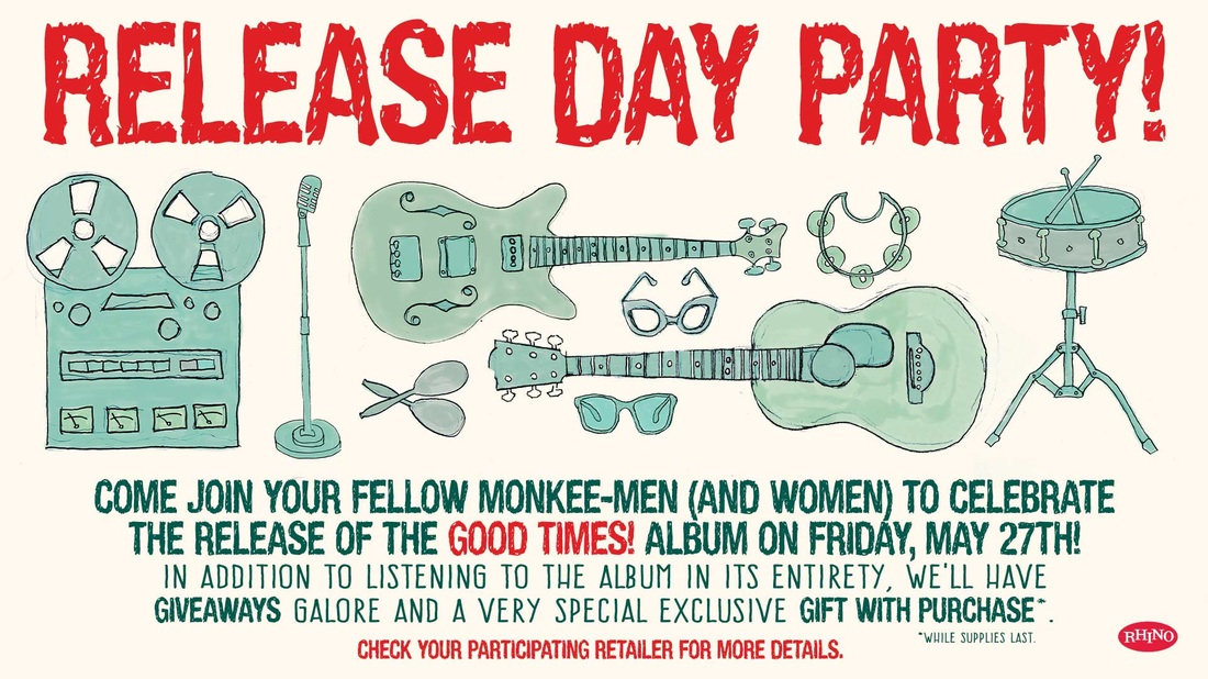 Good Times Monkees release day party