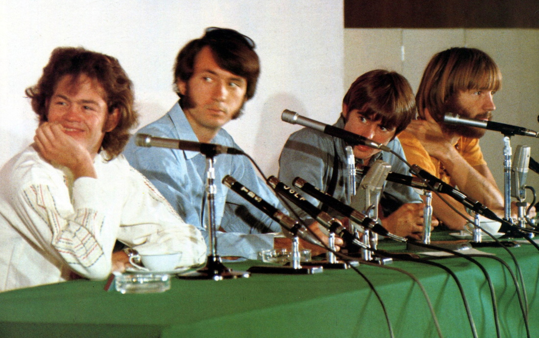 Monkees Japan tour 1968 conference