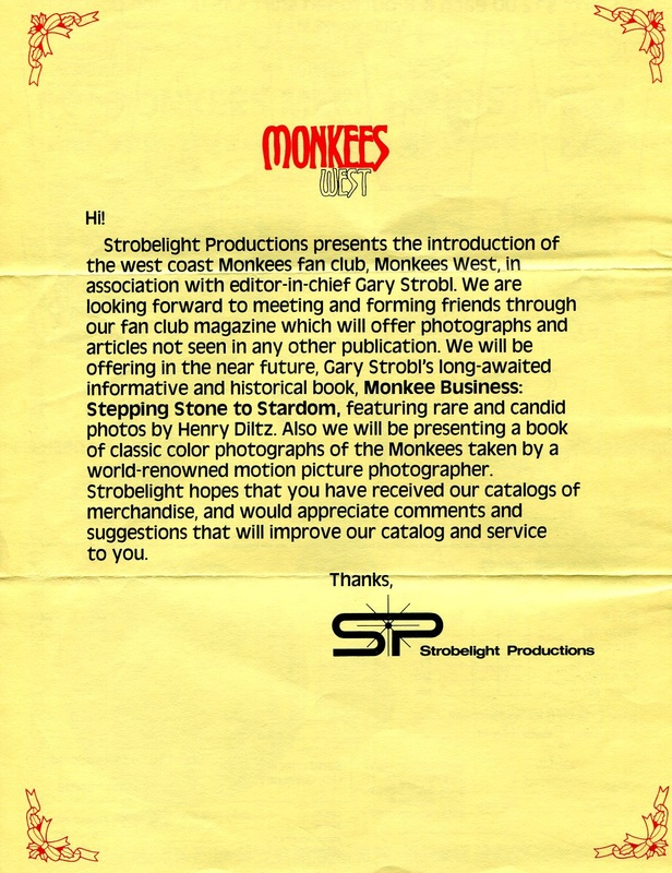 Strobelight Productions Monkees