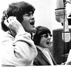 Micky Dolenz Davy Jones recording studio