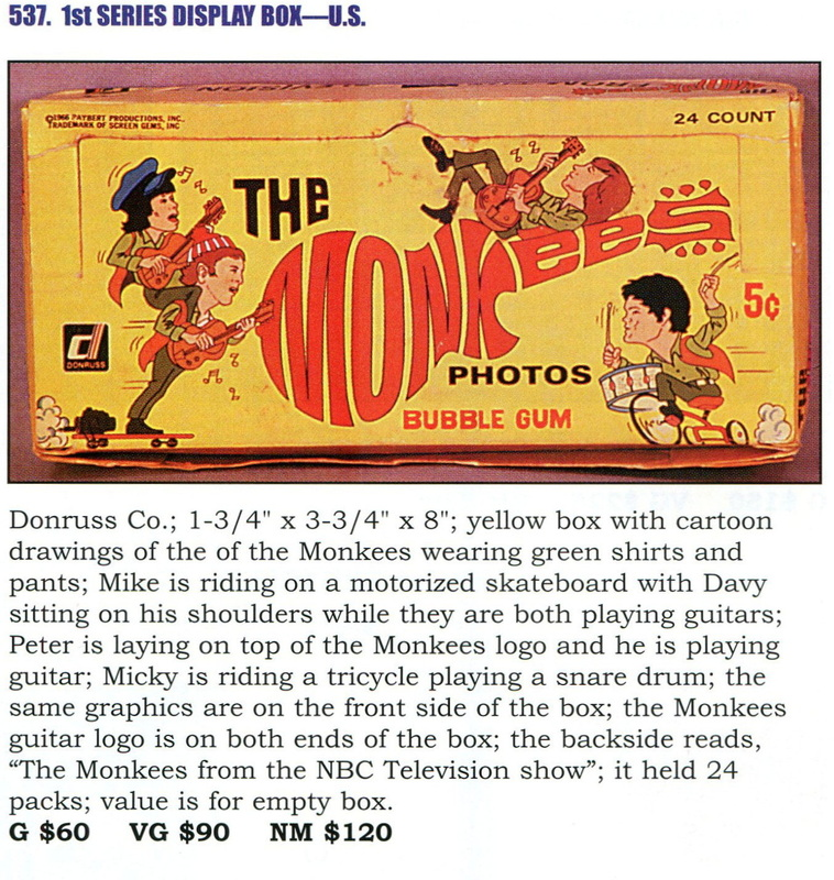 Monkees Donruss
