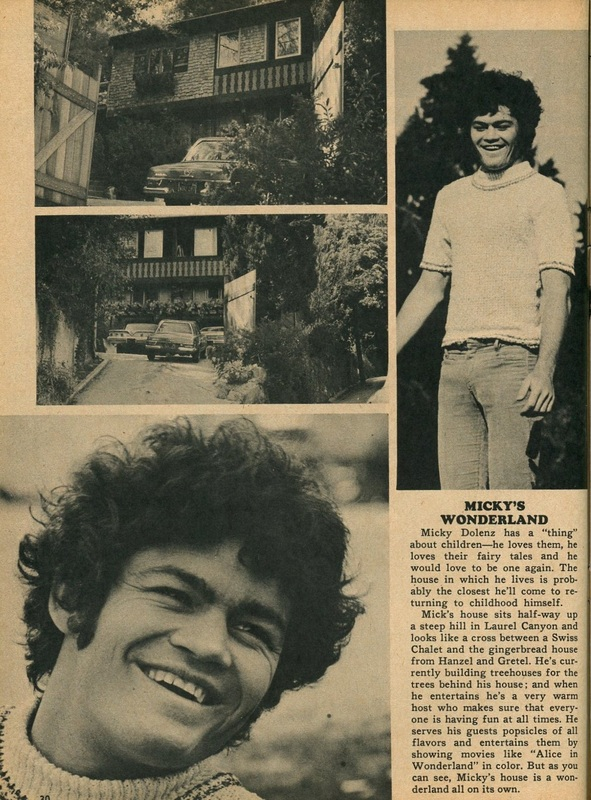Monkees Dolenz Laurel Canyon