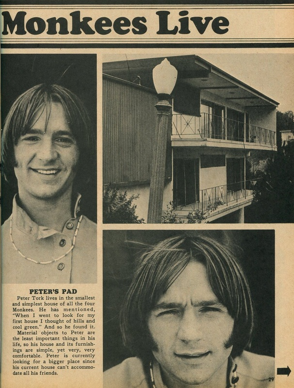 Monkees houses Laurel Canyon