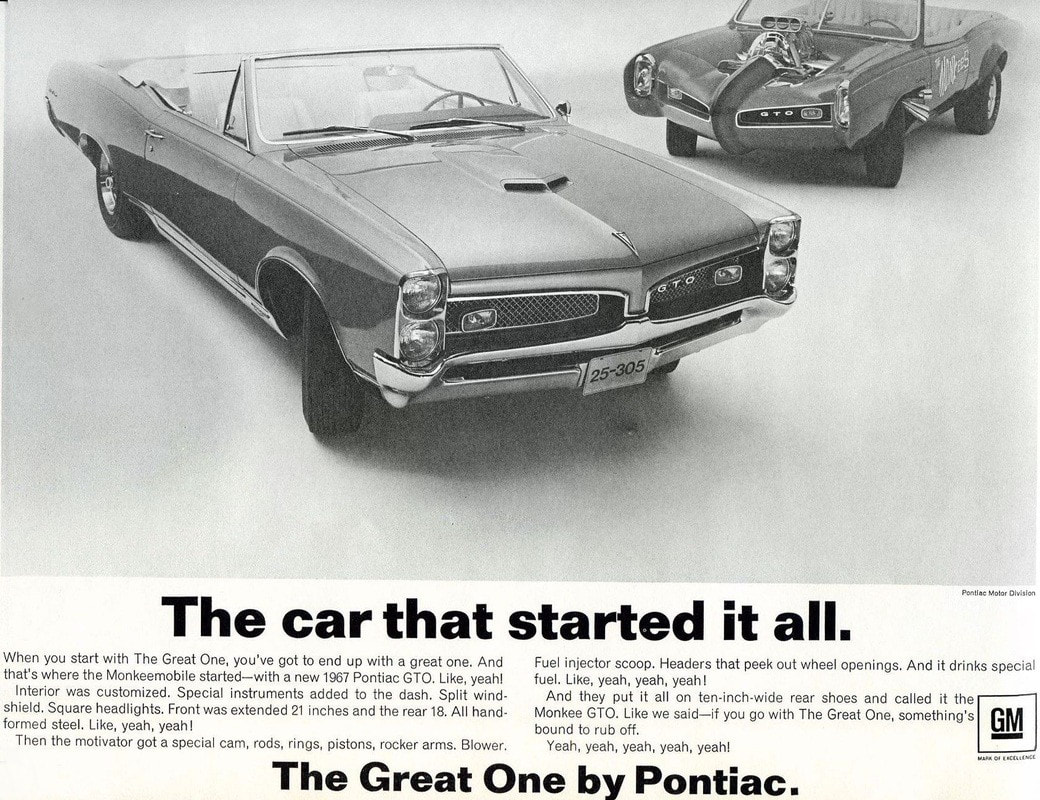 Monkeemobile Pontiac GTO